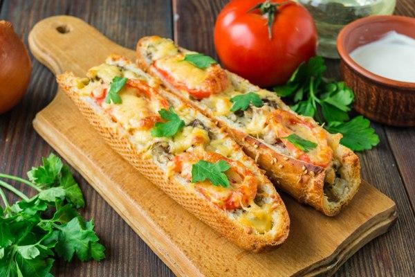 Лeнивая пицца «Маргарита»
