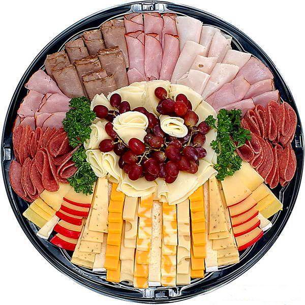 Красивые мясные нарезки на праздничный стол